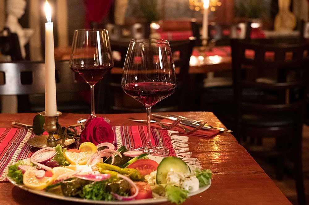 Gemütlichkeit in der Taverna Kreta